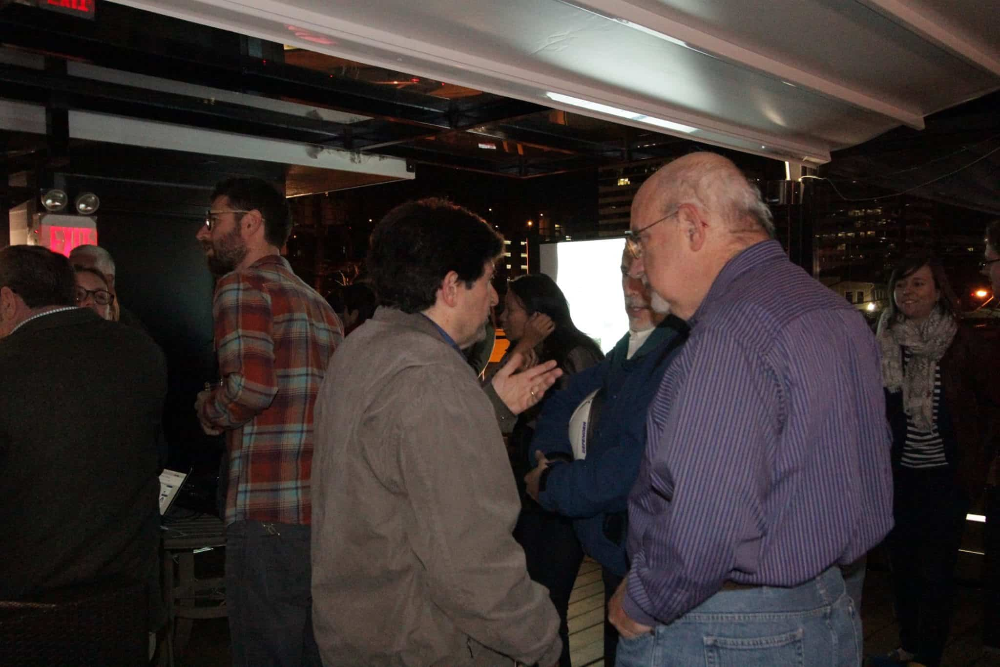 Photos from the launch party