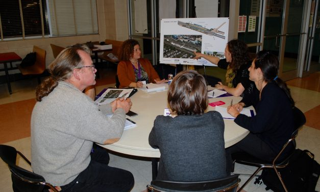 Residents meet with artists for Purple Line Art-in-Transit project