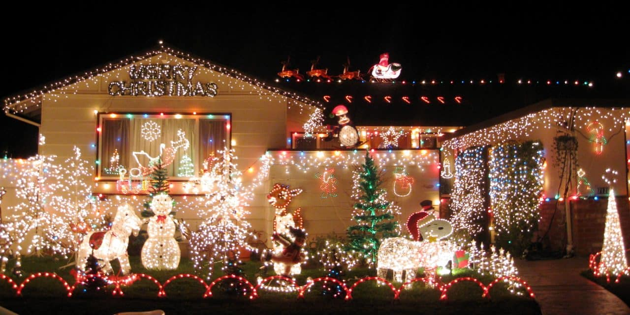Send photos of homes decorated for the holidays