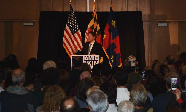 Raskin rally held in Silver Spring