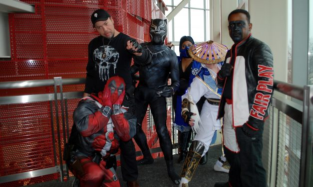 County library system holds first comic convention