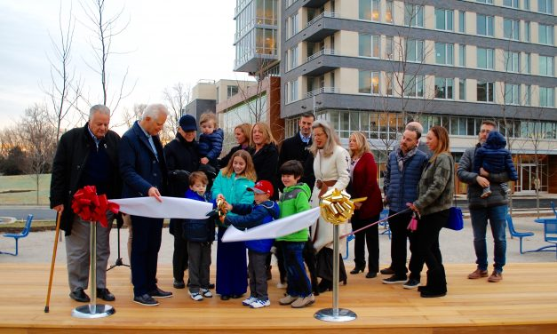 New apartment building at The Blairs officially opens