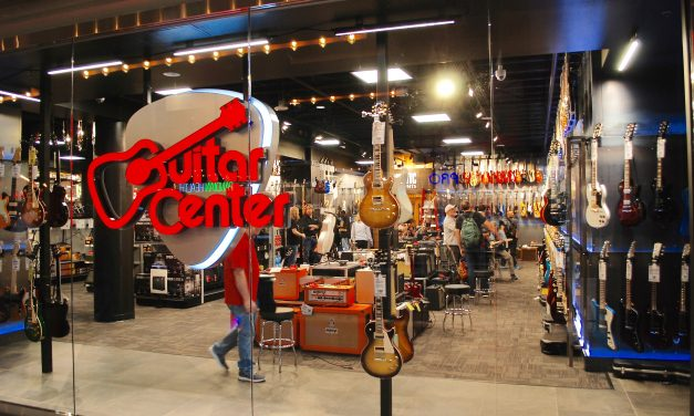 Guitar Center opens in Ellsworth Place