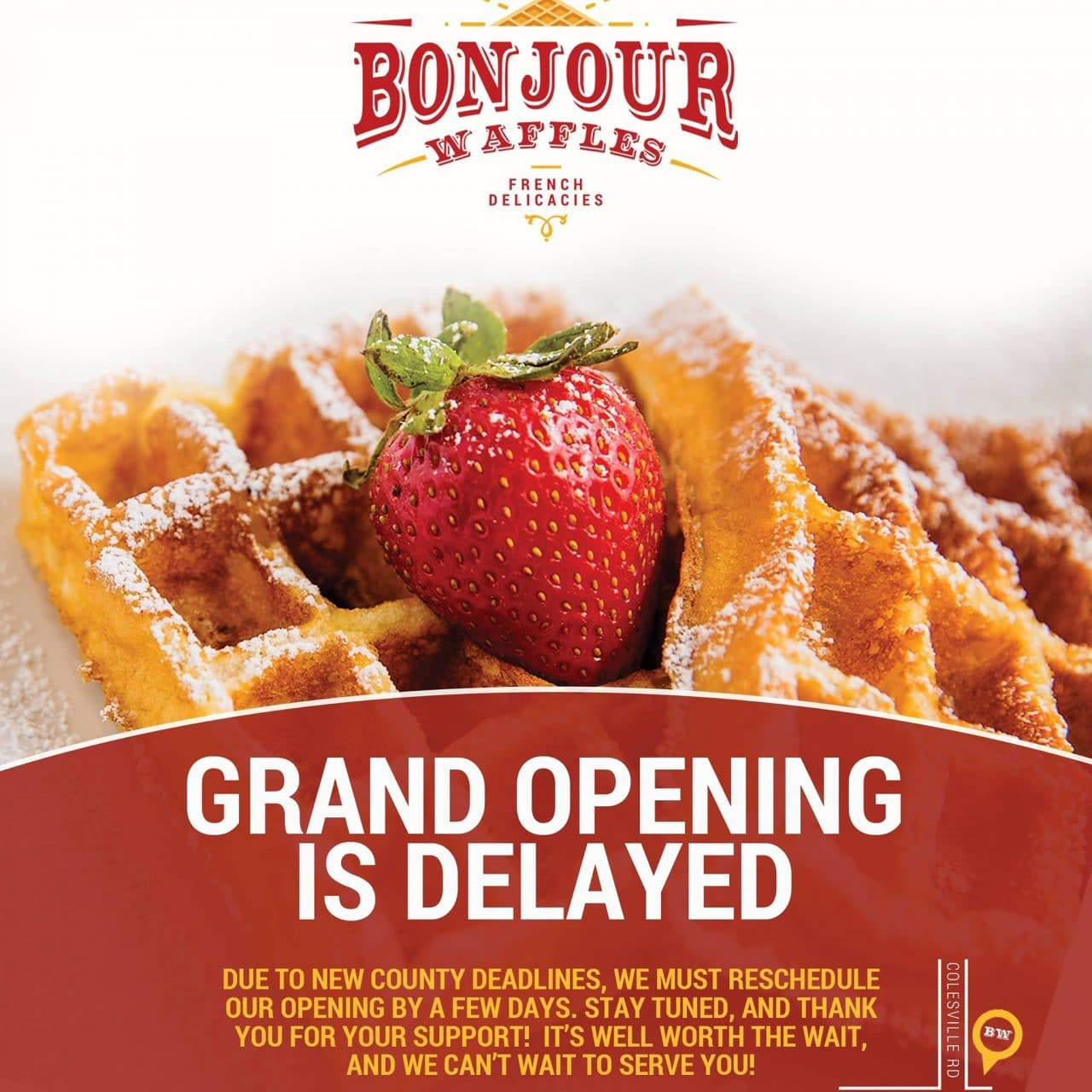 UPDATED: New food truck featuring waffles coming to Silver Spring