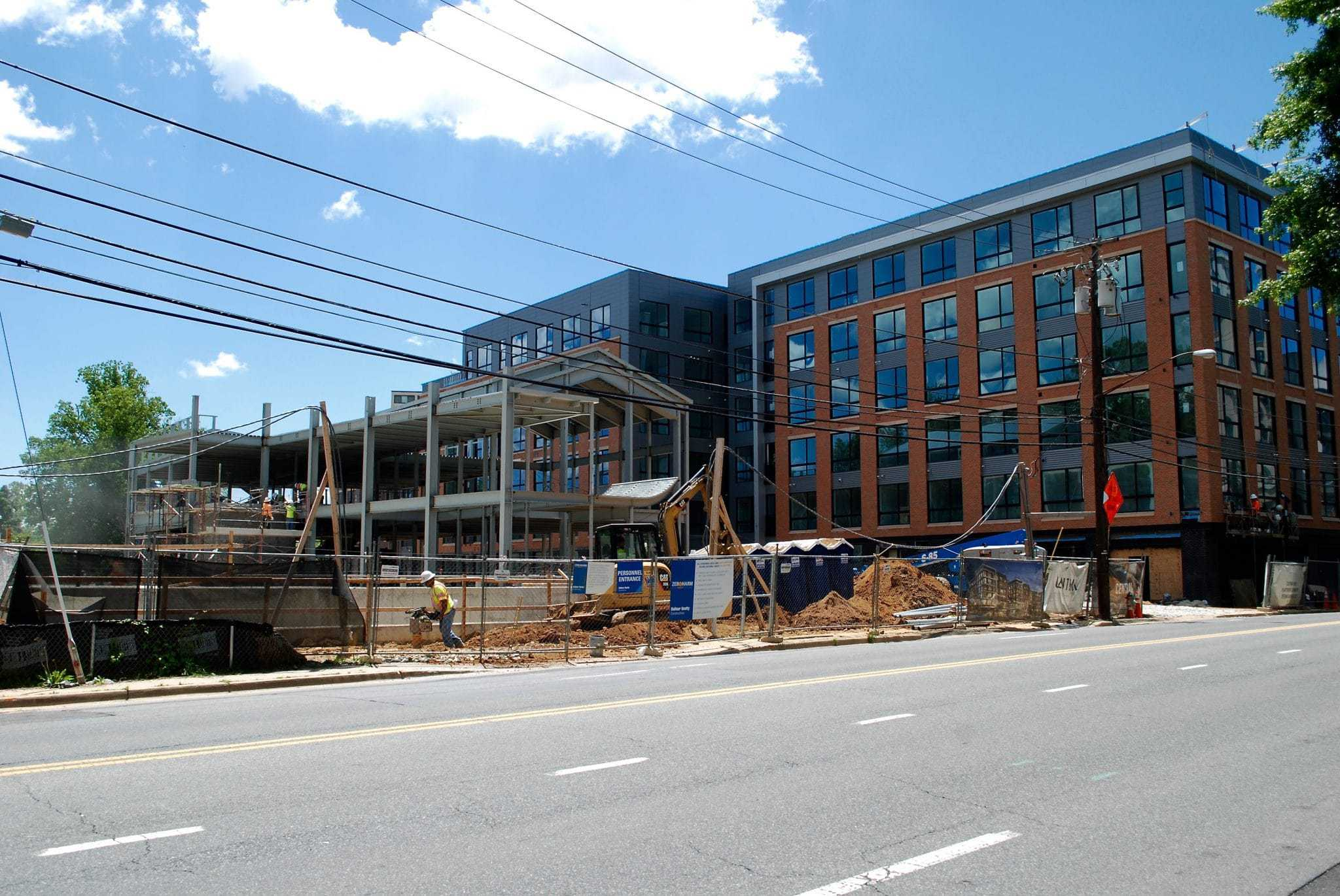 Mixed-use development close to being finished