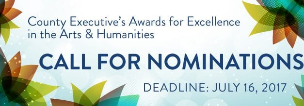 Nominations sought for county's arts and humanities awards