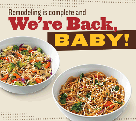 Noodles and Company back in business