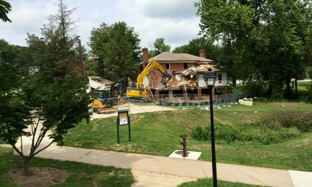 Demolition begun on house to allow park expansion