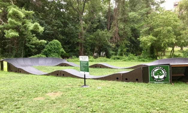 Pump Track part of Montgomery Parks' Pop-Up Programming