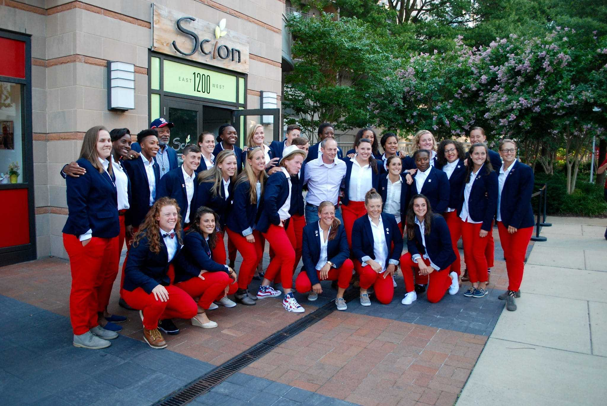 USA Women's Rugby gets Silver Spring send off to World Cup