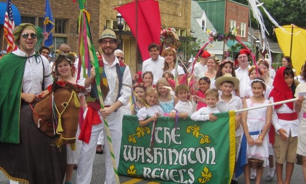 March with Revels in the 50th Kensington Parade