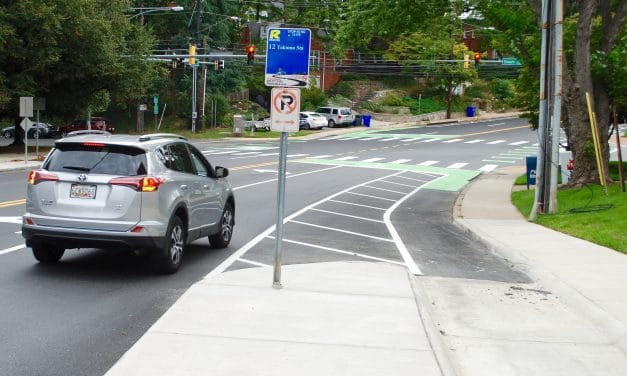 Bike lane project on Spring and Cedar close to completion