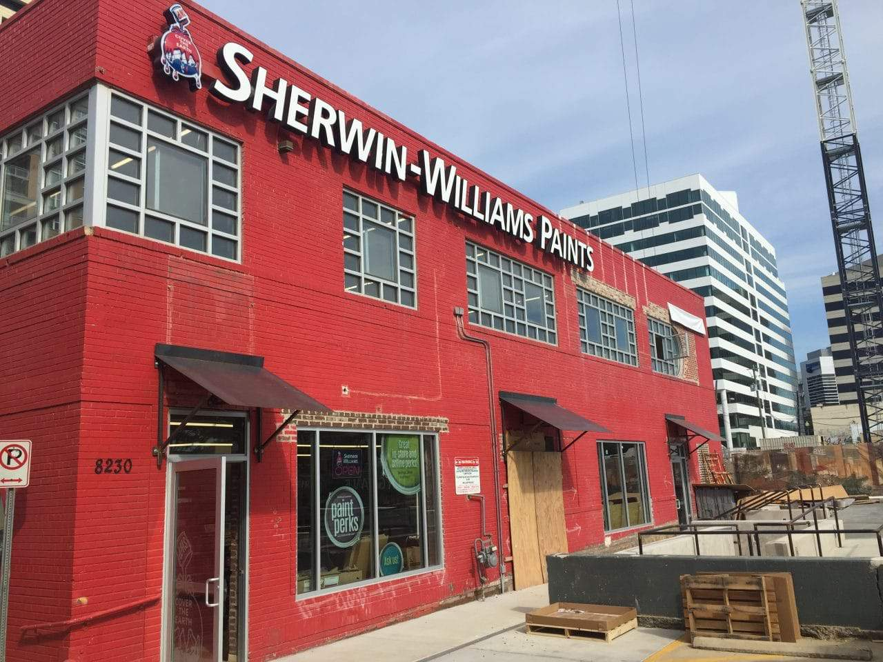 Sherwin Williams Paint Opens On Georgia Avenue