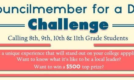 Councilmember for a Day Challenge Entries Sought
