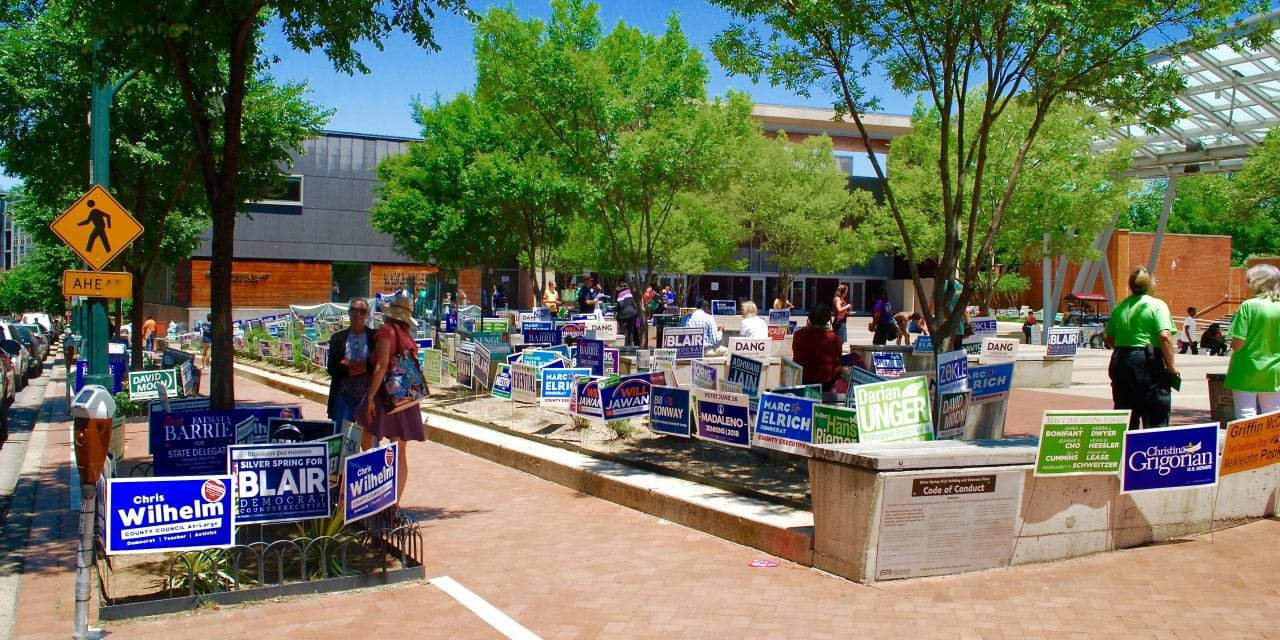 Primary election underway; 80,000 voters may need provisional ballots
