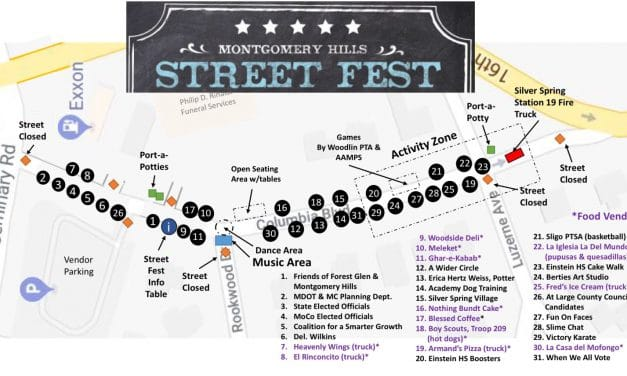 Montgomery Hills Residents to Hold First Street Festival Saturday