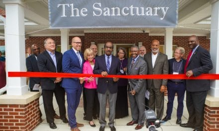 County, church officials cut ribbon on new affordable housing