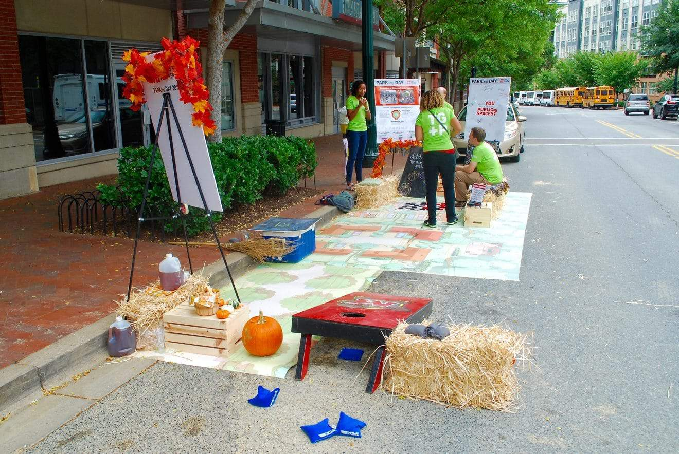 Organizations Join Celebration of PARK(ing) Day