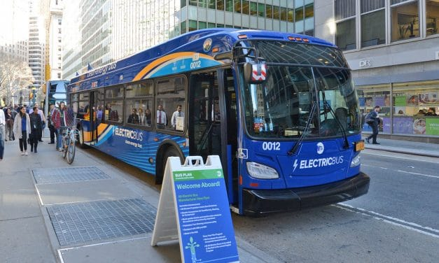 County Receives Second Federal Grant for Electric Busses
