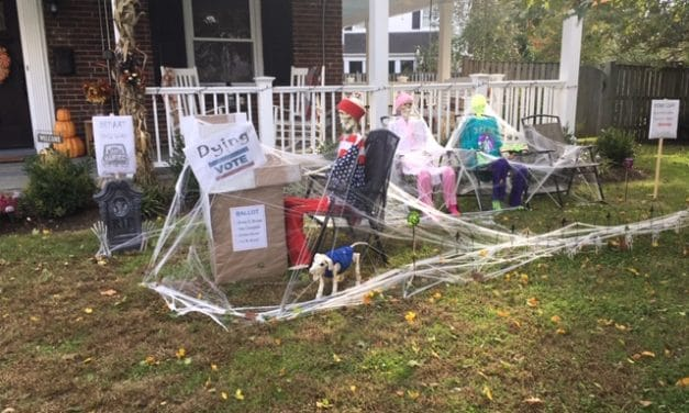 The Most Halloween Block in Silver Spring?