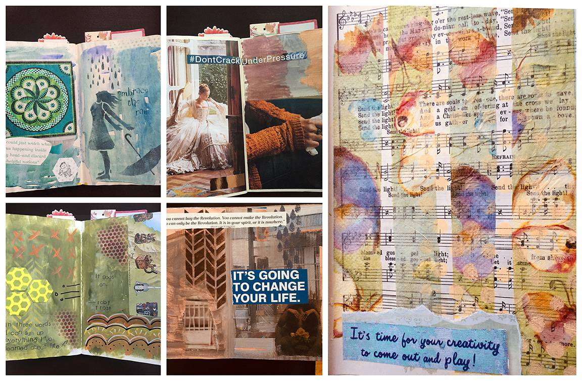 Art Journaling for Stress Reduction
