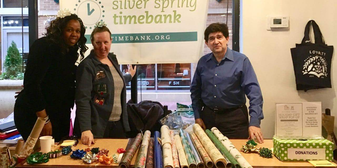 Nonprofit Offered Weekend Gift-Wrapping Service
