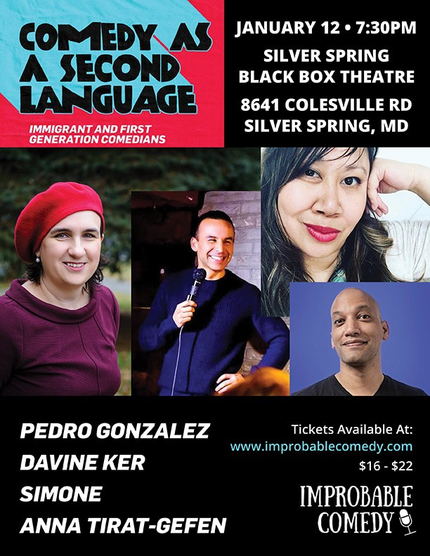 Improbable Comedy - Comedy as a Second Language