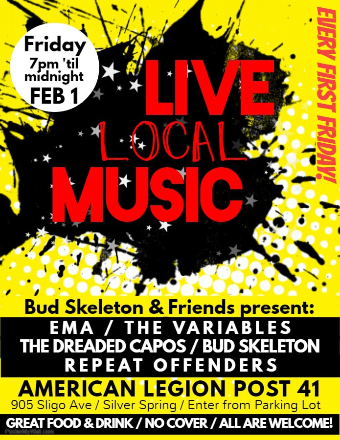 Live Local Music at the American Legion Post 41