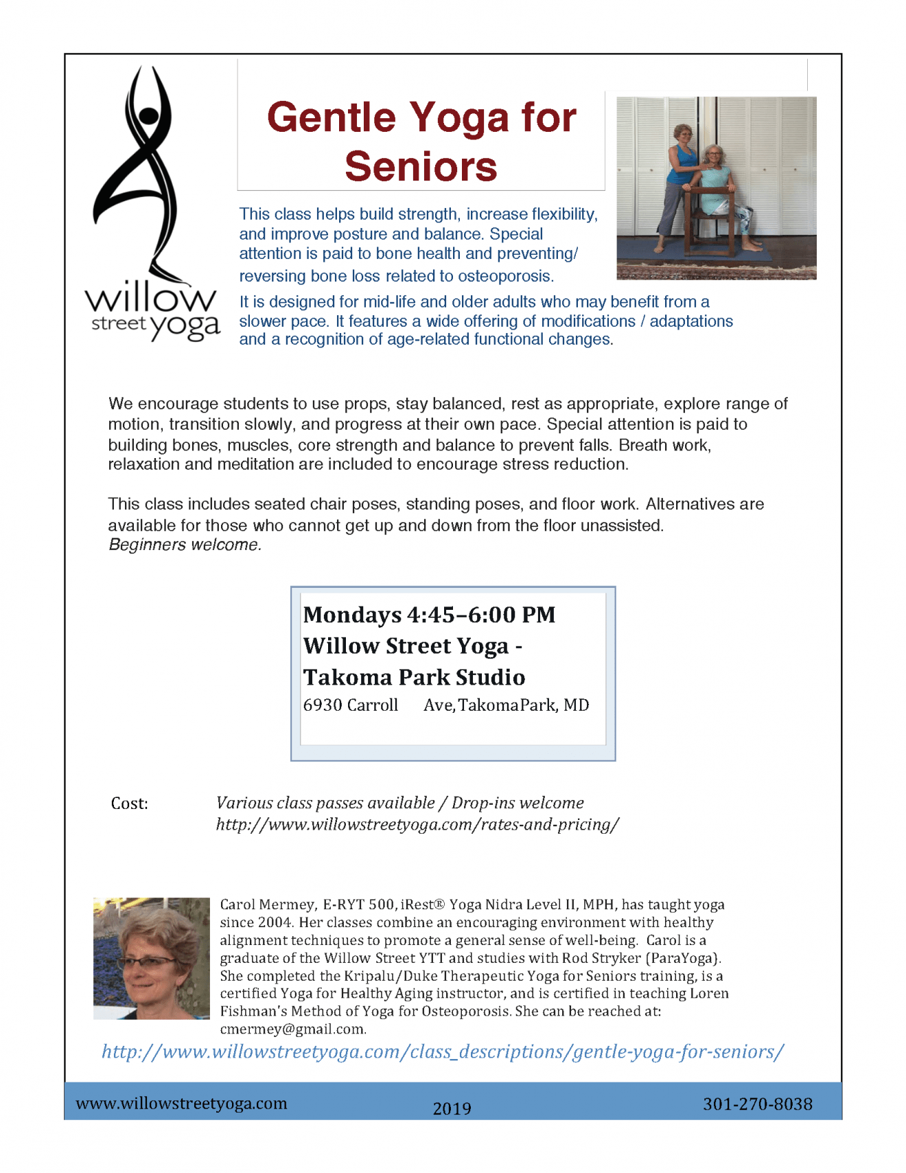 Gentle Yoga for Seniors