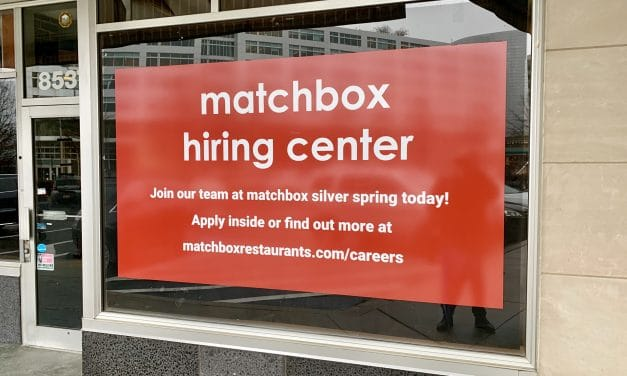 Matchbox Opens Hiring Center for Silver Spring Restaurant