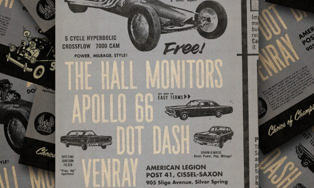 SHINDIGALICIOUS! Garage/Punk Rock Night with Apollo 66, The Hall Monitors, Dot Dash and Venray!