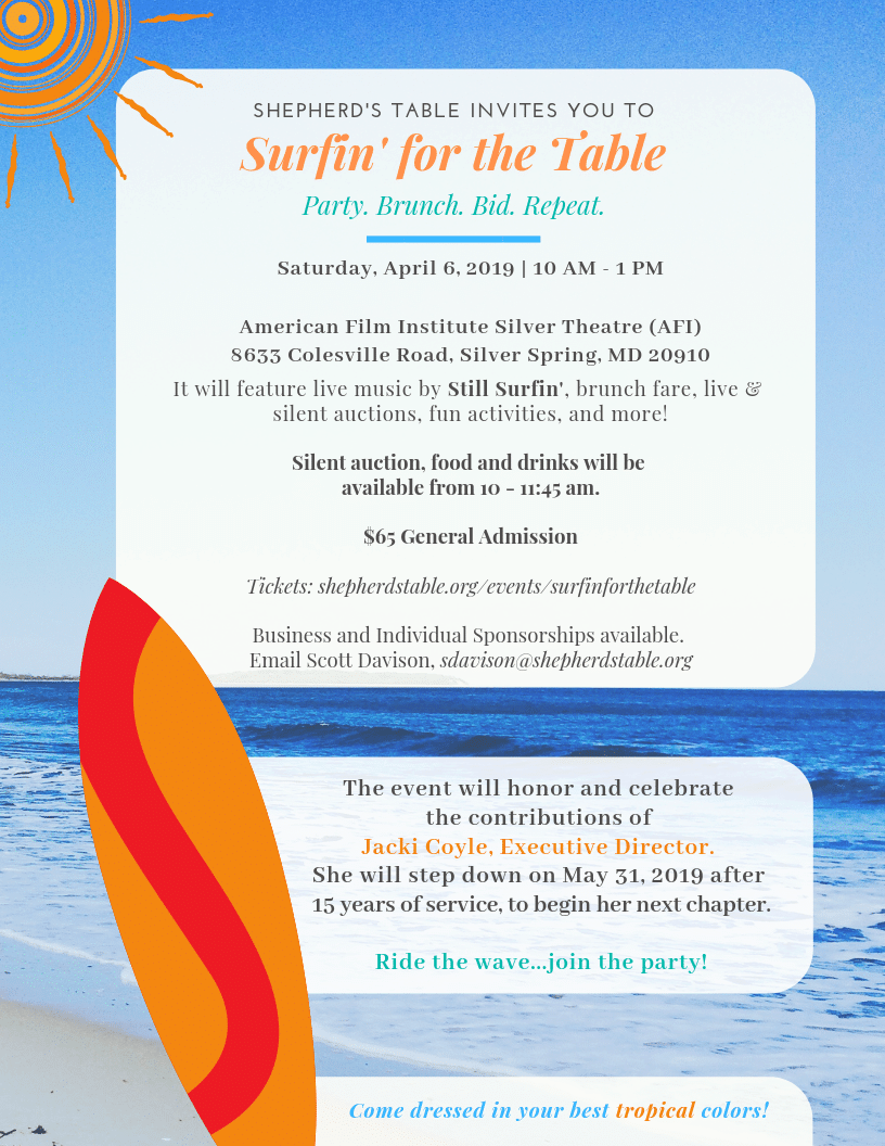 Surfin' for the Table