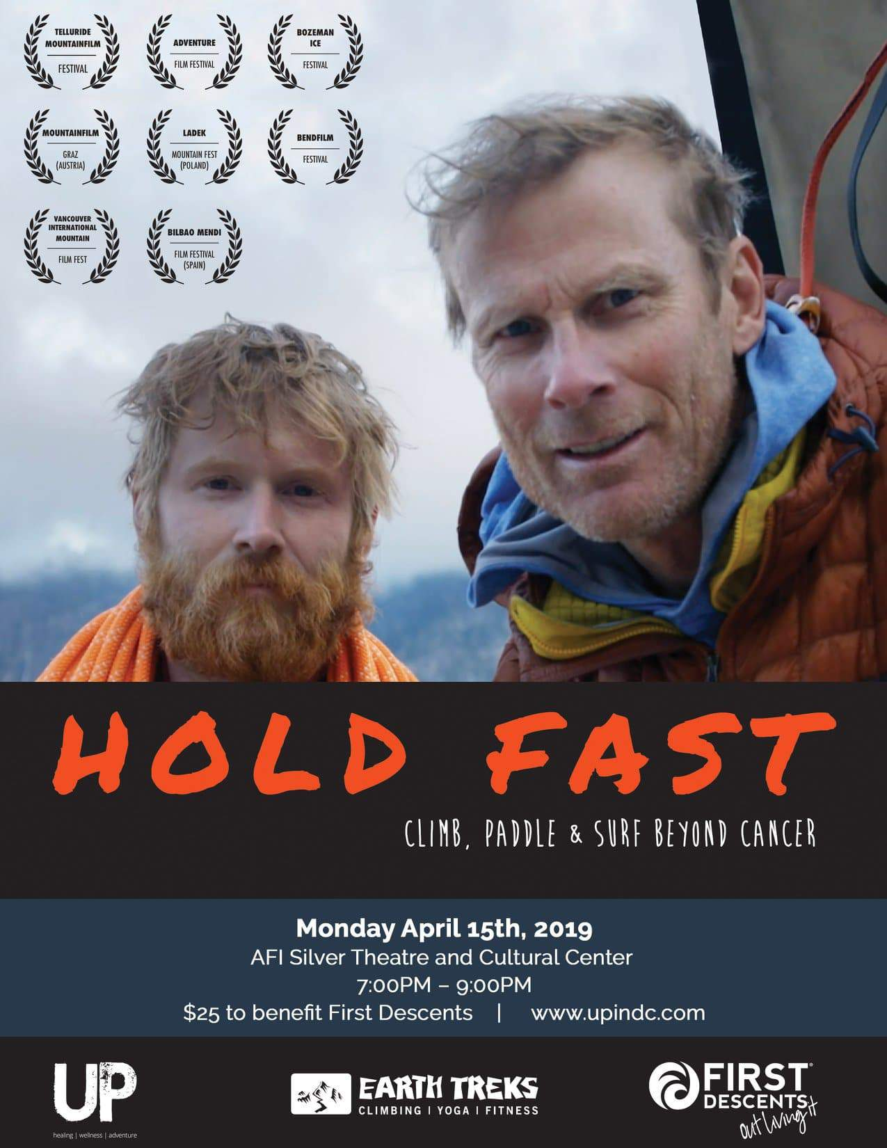 Hold Fast | Climb, Paddle and Surf Beyond Cancer