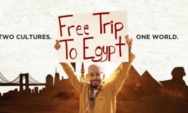 "Movie Screen: ""Free Trip to Egypt"""