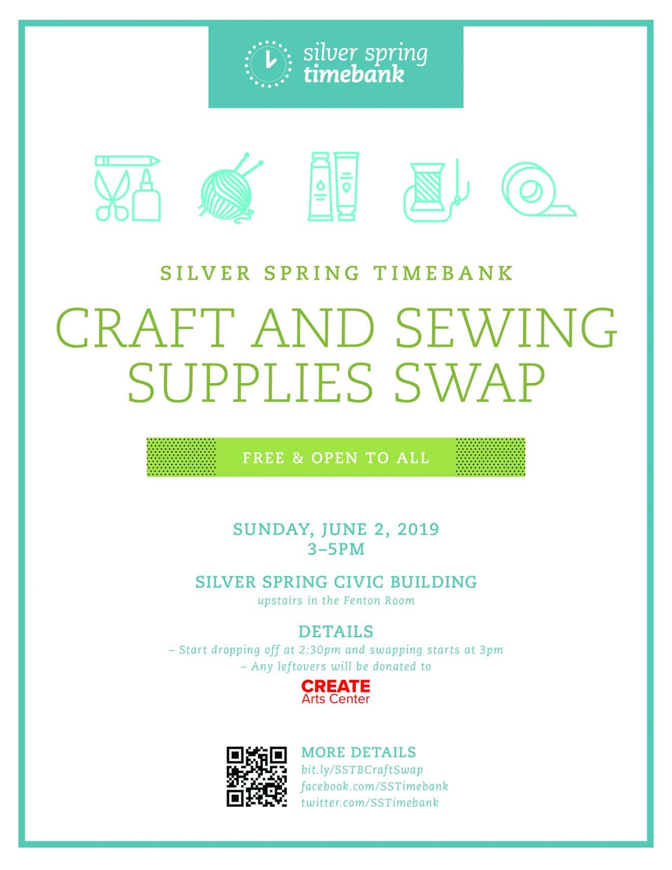 Craft and Sewing Supplies Swap
