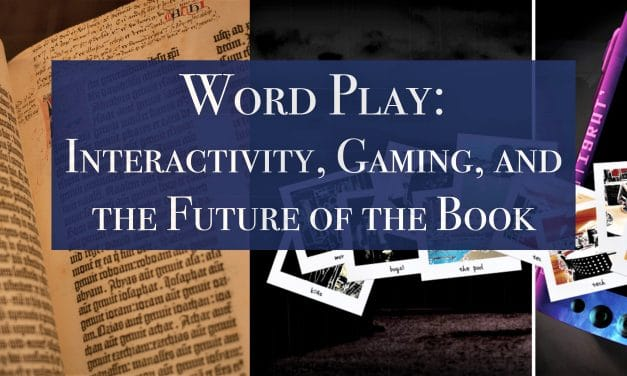 Word Play: Future of the Book Lecture by John Warren
