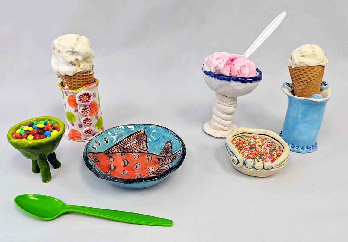 Sundae Sunday Pottery Workshop for Adults and Children