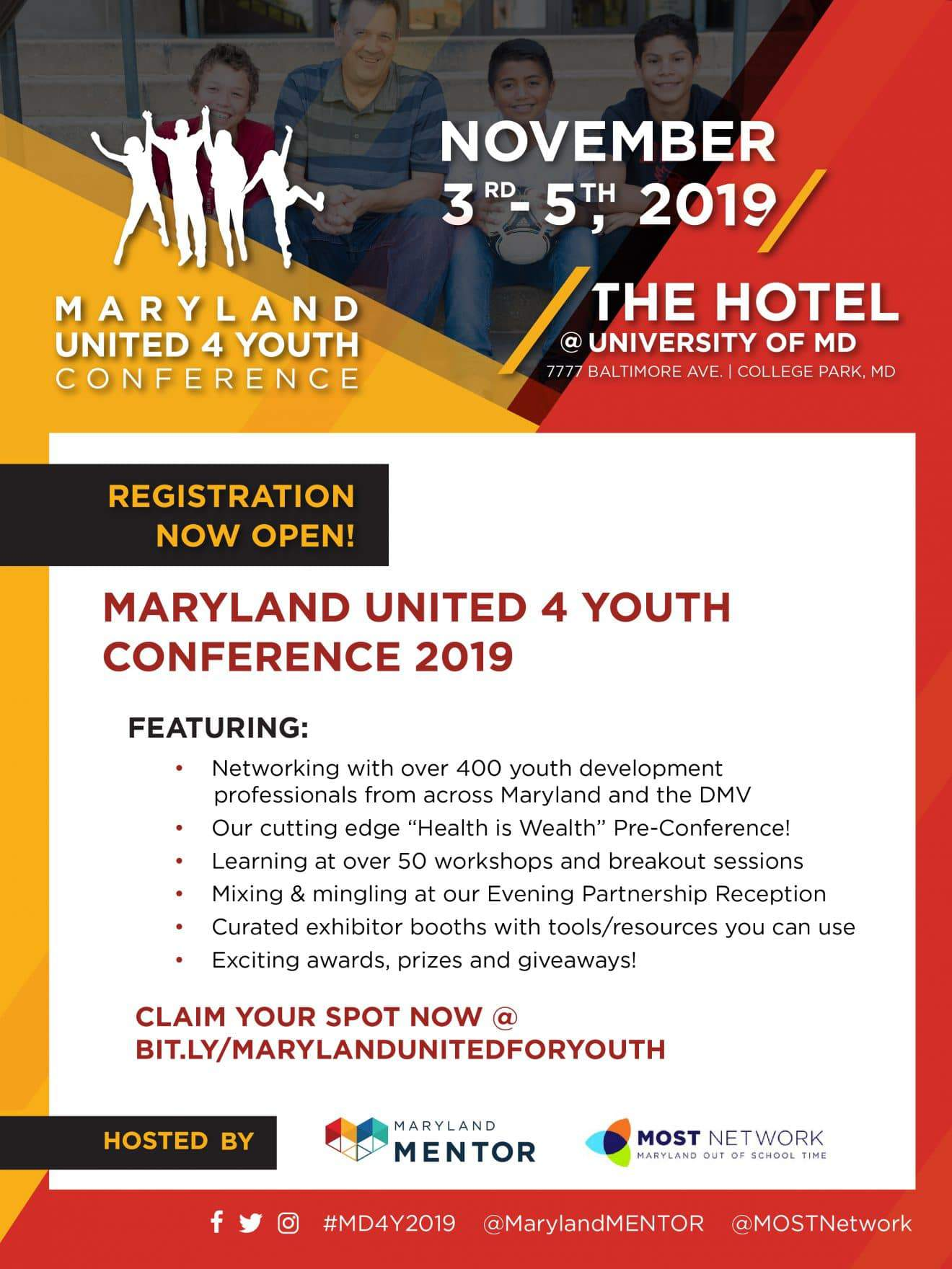 Maryland United for Youth Conference 2019