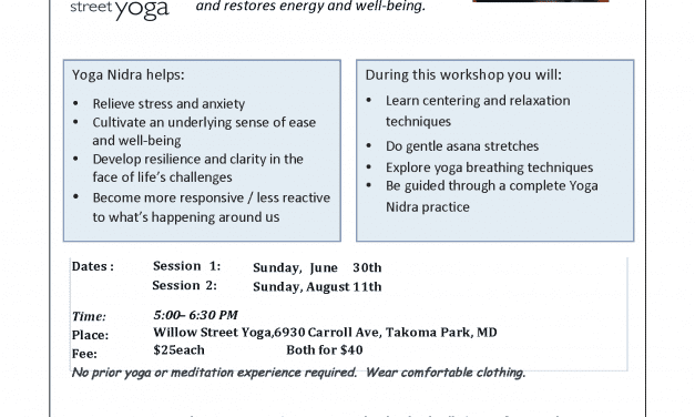 Yoga Nidra for Well-Being