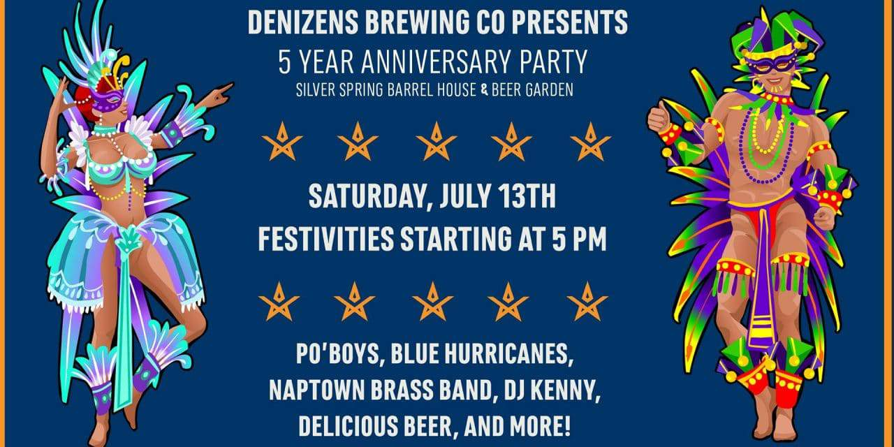 Denizens to Celebrate Anniversary with New Orleans Theme Party