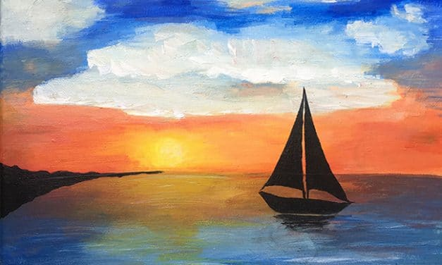 July Paint & Sip with CREATE and Kaldi's