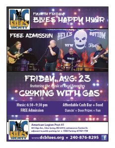 DC Blues Society's 4th Friday Happy Hour