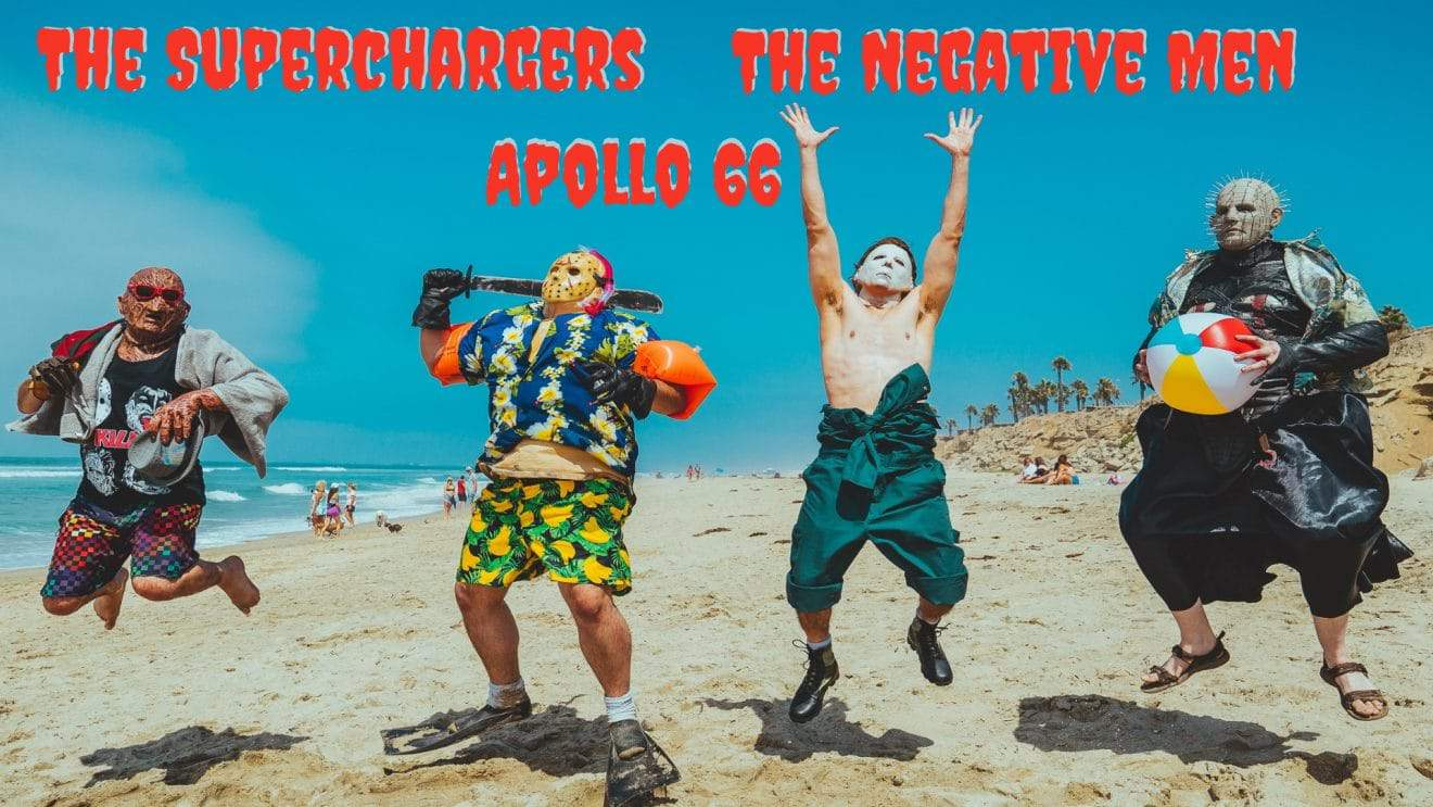 Garage Rock Night with Apollo 66, The SuperChargers and The Negative Men