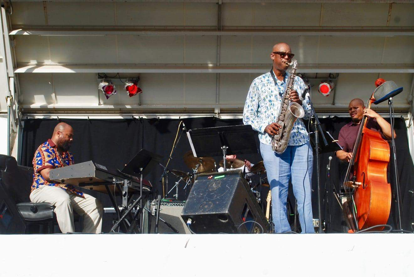 Perfect Weather, Great Entertainer Highlight Jazz Festival