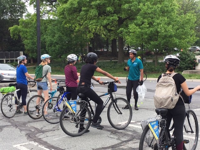 Adult City Cycling Classes - WABA & MCDOT sponsored