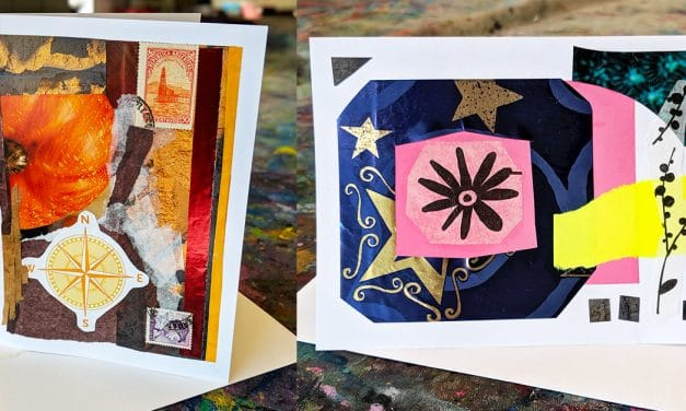 """Grandparents Day"" Grandparent/Child Collage Card Workshop"