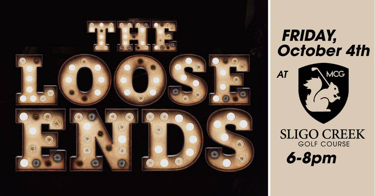 "Free live music with ""The Loose Ends"" at Sligo Creek Golf Course"