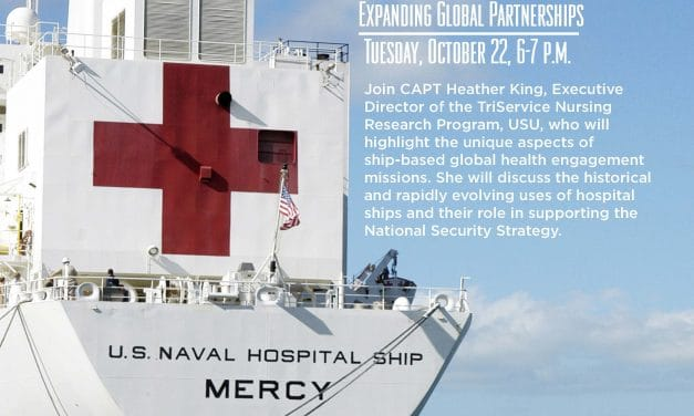 Medical Museum Science Café: Ship-Based Global Health Engagement Misions — Expanding Global Partnerships
