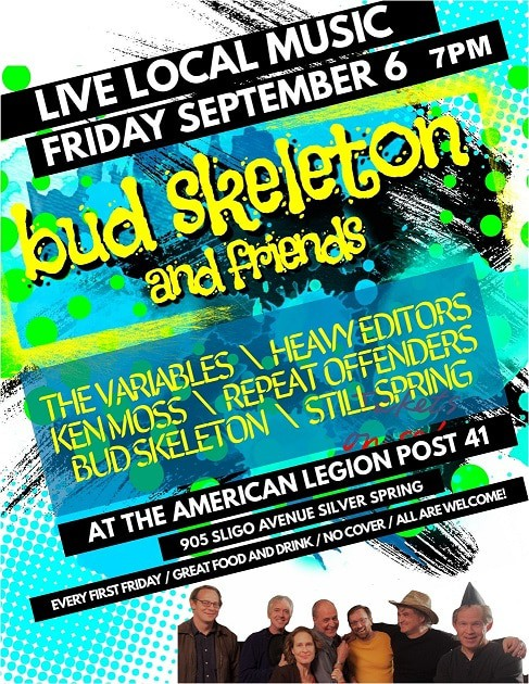 Bud Skeleton and Friends - Live Local Music