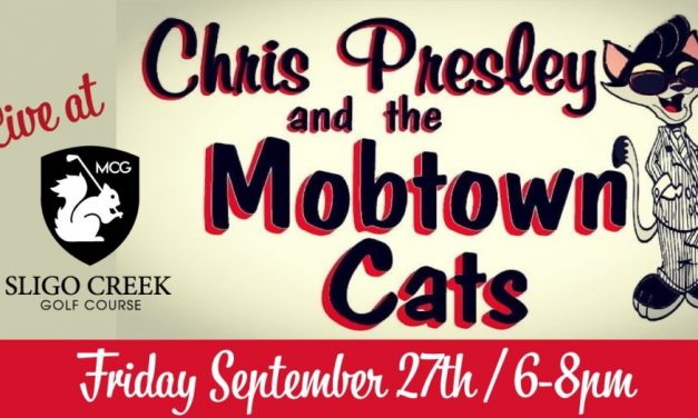 Free Live Music by the Mobtown Cats at Sligo Creek Golf Course